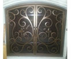 iron fireplace screens. Install Your New Custom Iron Fireplace Screen Or Door At A Competitive And Reasonable Price. We Don\u0027t Leave The Job Until You Are 100% Satisfied. Screens S
