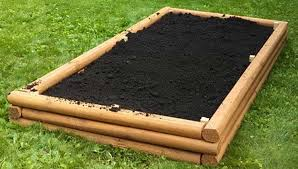 garden beds. landscaping timber raised garden beds
