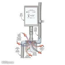 get a smart water heater the family handyman connect the wires at the water heater save