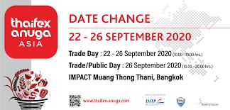 Thailand Trade Fair | Thailand Exhibition Calendar 2020 - Bangkok Show 2020  - Thai Trade Fair 2020