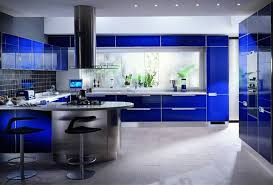 Beautiful Modern Kitchen Cabinets Blue Contemporary And Island Design In Black Inspiration