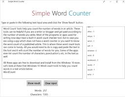 6 Free Windows 10 Character Count And Word Count Tools