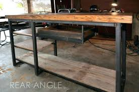 industrial style office desk. Industrial Chic Desk Medium Image For Charming Custom Made Work Office Style Organizer