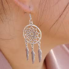 Dream Catcher Earing Dreamcatcher Earrings Grace Callie Designs 29