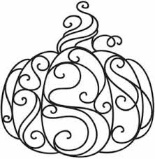 Small Picture Coloring Page World Swirly Pumpkin Free Printable Coloring