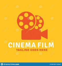 Yellow Logo Design Cinema Film Logo Design Inspiration For Business And Company