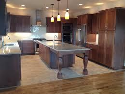 Kitchen Vinyl Tile Flooring Gerard Homes Stained Red Oak Hardwood Flooring Meeting Up To