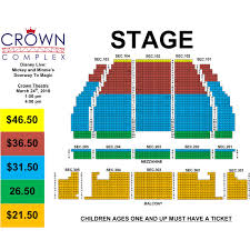Crown Complex Seating Chart Fayetteville Nc Groupticketsplus Order Form