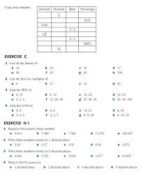 Determining Greatest Common Factors Of Sets Two Numbers From 4 ...