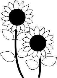 定番の花2 04 ひまわり 花の無料イラスト素材 イラストポップ