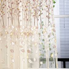 beautiful sheer window curtains