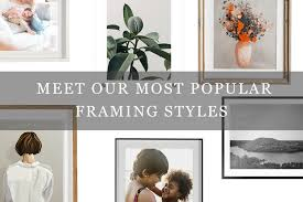 meet our most por framing styles