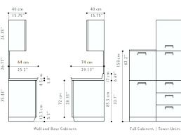 Standard Height For Kitchen Cabinets Best Design