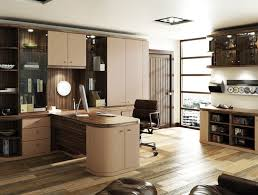 home offices fitted furniture. Exellent Offices Fitted Office In Cappuccino And Dark Olive With Home Offices Furniture S