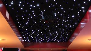 Diy Star Light Ceiling Installing A Fiber Optic Starfield Ceiling Make