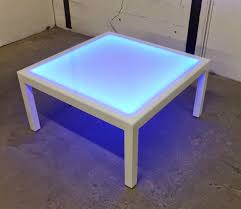 illuminated coffee table 2018 awesome collection lighted acrylic coffee table coffee table