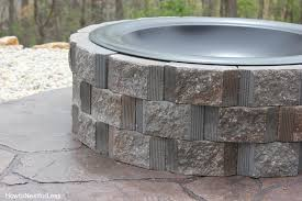 diy patio with fire pit. How To Build An Outdoor Fire Pit Diy Patio With R