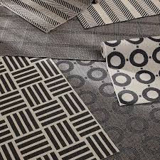 Crate And Barrel Kitchen Rugs Create Drama With Black Carpets And Rugs