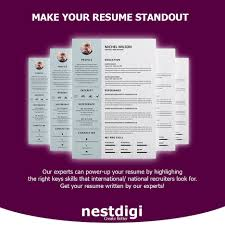 Nestdigi On Twitter Make Your Resume Standout By Purchasing Our