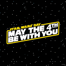 4th be with you! It's Star Wars Month ...