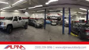 alpina auto and paint auto collision repair in portland