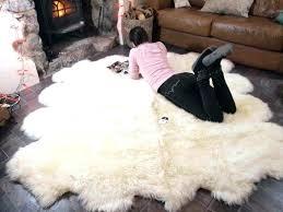 fur rug photo 6 of 6 faux fur rug large faux sheepskin rug very soft