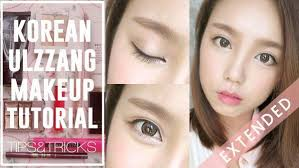 how to korean ulzzang uljjang make up