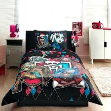 monster high bedding monster high bed kid room medium size mini bedroom interior set combined with