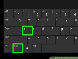 computer key board shortcuts how to use keyboard shortcuts 10 steps with pictures wikihow