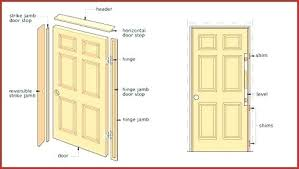 replace exterior door jamb how to install door casing how to install a reversible interior door