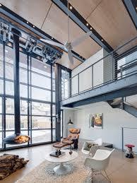 Living Room | Loft Ideas | Modern Interior | Industrial Home
