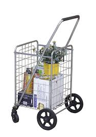 Portable Light Carts Wellmax Wm99024s Grocery Utility Shopping Cart Easily