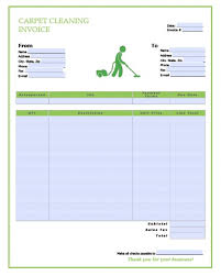 Cleaning Invoices Magnificent Free Cleaning Invoice Template Denryoku