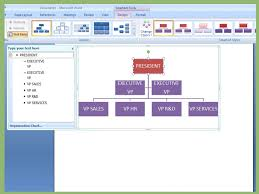 005 Microsoft Office Organization Chart Template Unusual