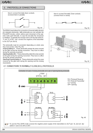 s450h 24v hydraulic swing gate operator ul325 ul991 pdf 3 Wire Photocell Wiring-Diagram at Faac Photocell Wiring Diagram
