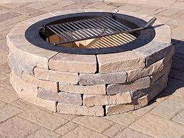 chapel stone firepit kit round