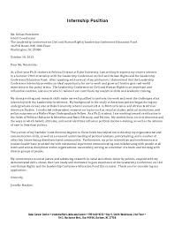 Student Affairs Cover Letter Sample Cover Letter Sample University Student University Student