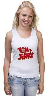 <b>Майка классическая Том</b> и Джерри #2193966 от ...