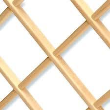 Lattice Wine Rack Diagonal Wine Racks Lattice Wine Rack Plans