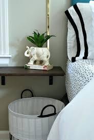 wall nightstand floating night stand with brackets wall mounted nightstand ikea