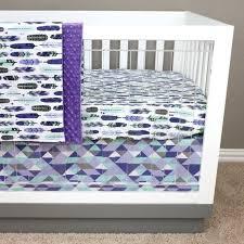 image 0 purple and mint crib bedding green baby girl