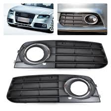 2006 Audi A4 Fog Light Grill Details About 2x Fog Light Lamp Cover Grille Fit For Audi A4 8k0807681a 01c 8k0807682a 01c