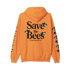 Golf Wang Size Chart Save The Bees Hoodie By Golf Wang