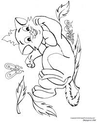 Baby Kittens Coloring Pages - Coloring Home
