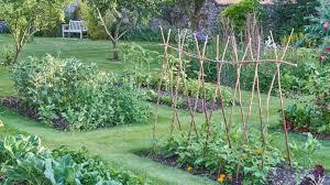 in ground garden bed