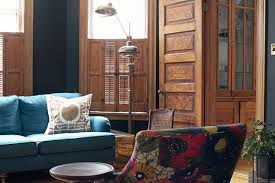 paint colors with dark wood trimThe Second Parlor Painted Black  Making it Lovely