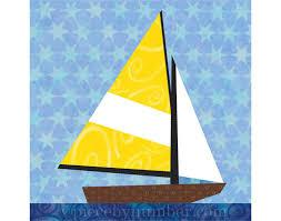 Sailboat quilt blocks paper pieced quilt от PieceByNumberQuilts ... & Sailboat quilt blocks paper pieced quilt от PieceByNumberQuilts Adamdwight.com