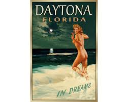 DAYTONA BEACH Florida New Original Marilyn Monroe Poster 4
