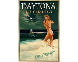 DAYTONA BEACH Florida New Original Marilyn Monroe Poster 4