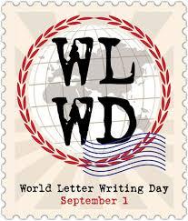 Letter World World Letter Writing Day Richard Simpkin